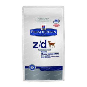 Hills Prescription Diet Canine Low Allergen Z/D 2 kg