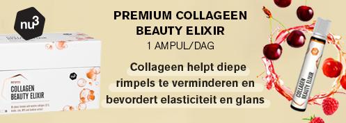 nu3 Premium Collageen Beauty Elixir 28 ampoules