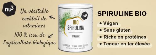 nu3 Spiruline Bio 140 g