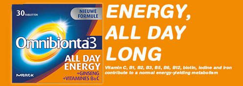 Omnibionta 3 - All Day Energy | Farmaline