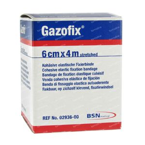 Gazofix 6cm x 4m 1 pièce