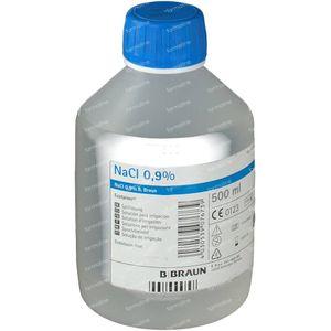 Ecotainer Braun NaCl 0.9% 500 ml