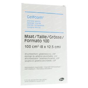Gelfoam Sterile Sponge Size 100 6 pièces
