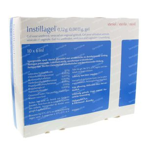 Instillagel Spuitampullen 60 ml ampoules