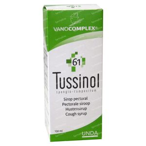 Vanocomplex 61 Tussinol 150 ml siroop
