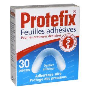 Protefix Feuille adhésive Inferieur 30 pièces