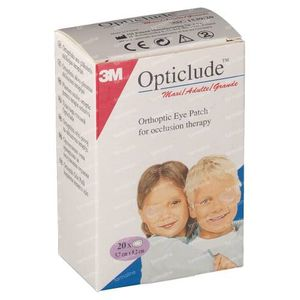 3M Opticlude Oogpleister Senior 82mm x 57mm 20 stuks