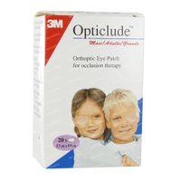 Image of 3M Opticlude Oogpleister Senior 8,2cm X 5,7cm 153920 20 st