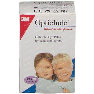 3M Opticlude Oogpleister Senior 82mm x 57mm 20 stuks