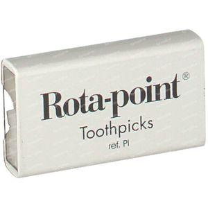 Toothpicks Plastic Rotadent Smooth 20 pieces