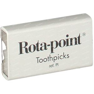 Toothpicks Plastic Rotadent Smooth 20 pezzi