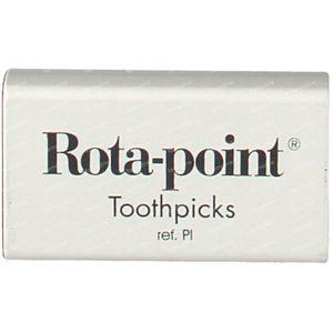 Toothpicks Plastic Rotadent Smooth 20 pezzi