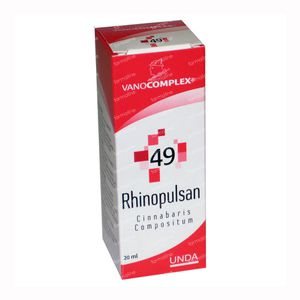 Vanocomplex 49 Rhinopulsan 20 ml