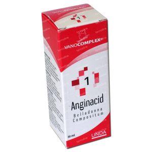 Vanocomplex 1 Anginacid 20 ml