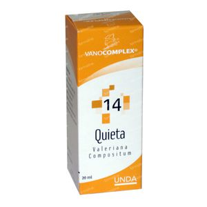 Vanocomplex 14 Quieta 20 ml