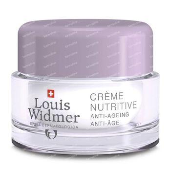 Louis Widmer Crème Nutritive Légèrement Parfumé 50 ml
