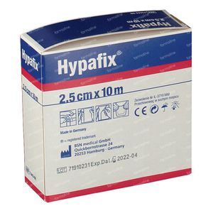 Hypafix 2.5cm x 10m 1 pièce