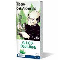 Kruidenthee uit de Ardennen® n°16 Gluco-Evenwicht 70 g