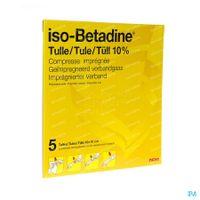 iso-Betadine Tule 5  kompressen