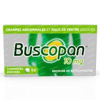 Buscopan 10mg - Crampes Abdominales 50  comprimés