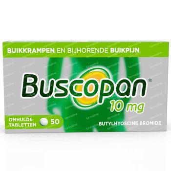Buscopan 10mg - Buikkrampen 50 tabletten