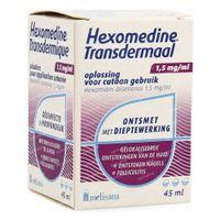 Hexomedine Transdermaal 45 ml oplossing