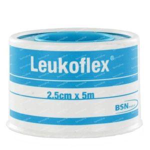 Leukoflex Lid Adhesive Plaster 2.5cm x 5m 1 St