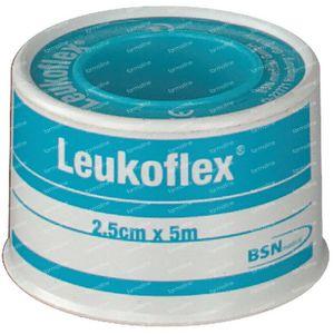 Leukoflex Lid Adhesive Plaster 2.5cm x 5m 1 pezzo