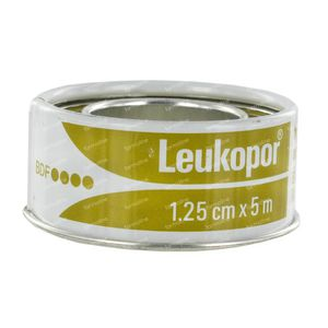 Leukopor Sticking Plaster 2471 1.25cm x 5m 1 item