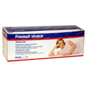 Fixomull Stretch ADH 15cm x 2m 1 stuk
