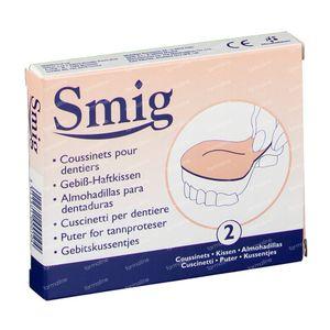 Smig Coussinets Dentaires 2 pièces