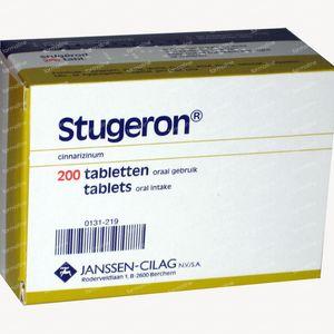 Stugeron 25mg 200 stuks Comprimés