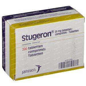 Stugeron 25mg 200 comprimés