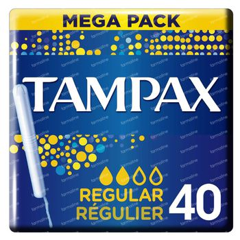Tampax Regular 40 pièces
