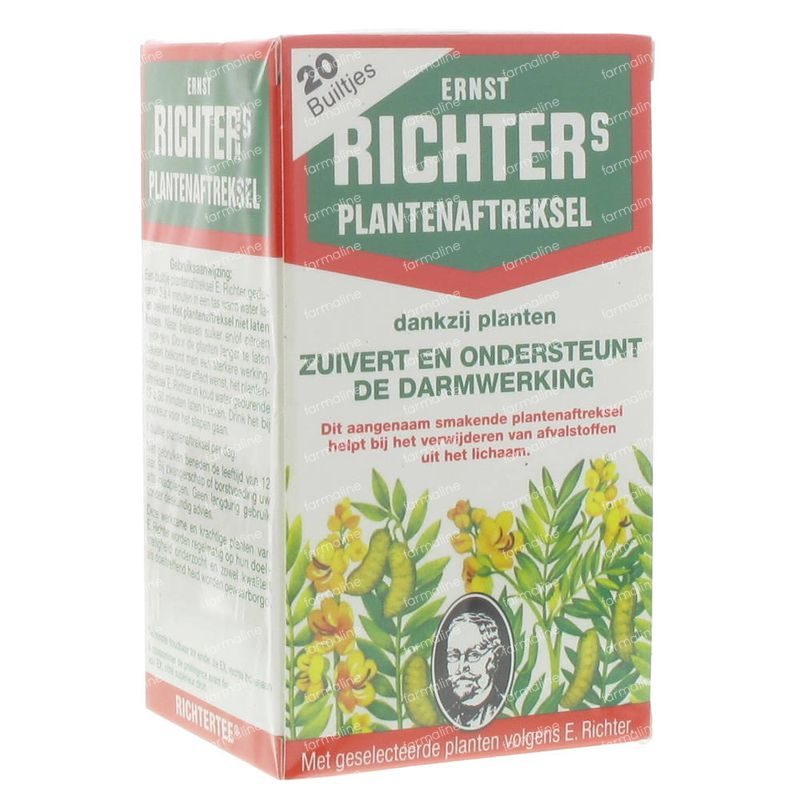 Ernst Richter Purifie et Facilite la Fonction Intestinale