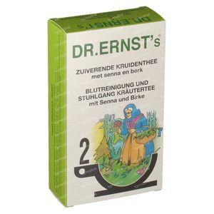 Dr Ernst Thee Nr. 2 Bloedzuiverend  24 zakjes