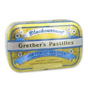 Grethers Pastilles Blackcurrant 110 g