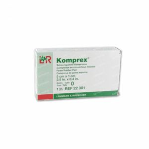 Komprex 0 Kidney-Shaped 22301 9 cm