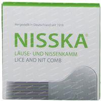 Nisska Peigne à Poux Metal 1 st