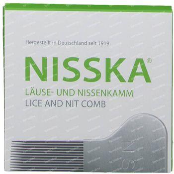 Nisska Peigne à Poux Metal 1 pièce