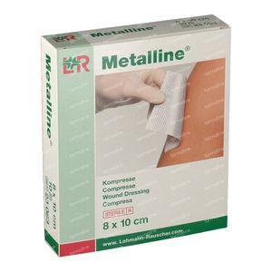 Metalline Compresse Stérile 8 x 10cm 23083 10 pièces