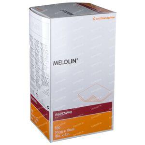Melolin Stérile Compresse 10 x 10cm 66974941 100 pièces
