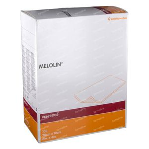 Melolin Steriel Kompres 10 x 20cm 66974939 100 stuks