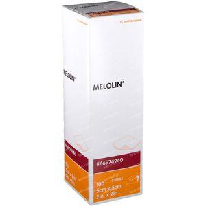 Melolin Stérile Compresse 5 x 5cm 66984940 100 pièces