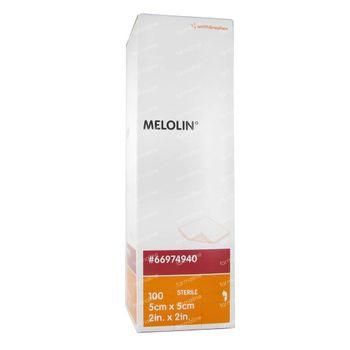 Melolin Steriel Kompres 5 x 5cm 66984940 100 stuks