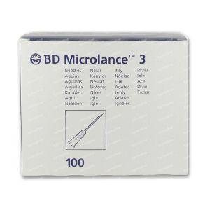 BD Microlance 3 Aiguilles 26G 3/8 SB 0.45x10Mm 100 pièces
