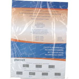 Pharmex Pants Incontinence -Push Button 44-48 1 item
