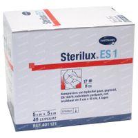 Hartmann Sterilux ES KP Steriel 8PL 5cm x 5cm 40 st