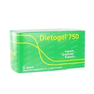 Dietogel 750 50 St capsule
