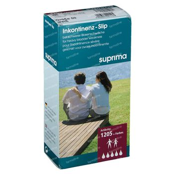 Bota Suprima 1205 Slip PVC Unisex Blanc T50 1 slips